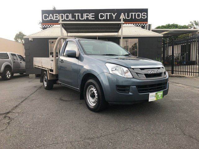 Used Isuzu D-MAX TF MY14 SX (4x2), 2014 Isuzu D-MAX TF MY14 SX (4x2) Blue 5 Speed Manual Cab Chassis