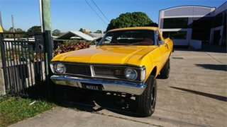 1971 Ford Falcon XY 4x4 Summer Gold 3 Speed Manual Utility