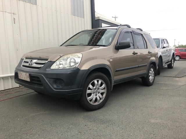 Used Honda CR-V 2005 Upgrade (4x4), 2005 Honda CR-V 2005 Upgrade (4x4) Gold 5 Speed Manual Wagon