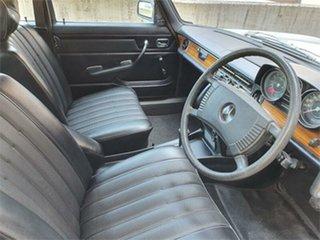 1974 Mercedes-Benz 280 W114 White 3 Speed Automatic Sedan