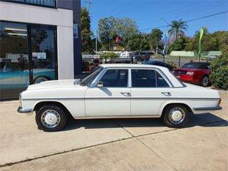 1974 Mercedes-Benz 280 W114 White 3 Speed Automatic Sedan.