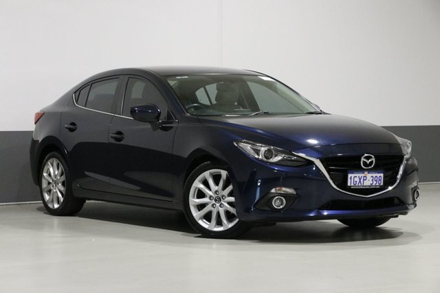Used Mazda 3 BM SP25 GT, 2014 Mazda 3 BM SP25 GT Blue 6 Speed Automatic Sedan