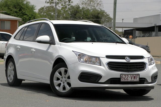 Used Holden Cruze JH Series II MY16 CD Sportwagon, 2015 Holden Cruze JH Series II MY16 CD Sportwagon White 6 Speed Sports Automatic Wagon