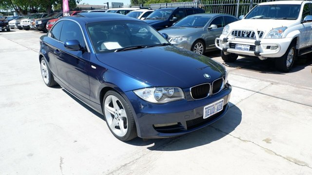 Used BMW 125i E82 MY10 125i, 2010 BMW 125i E82 MY10 125i Blue 6 Speed Automatic Coupe