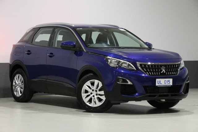 Used Peugeot 3008 P84 MY18.5 Active, 2018 Peugeot 3008 P84 MY18.5 Active Blue 6 Speed Automatic Wagon