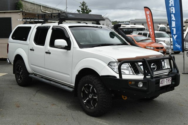 Used Nissan Navara D40 MY12 ST 25th Anniversary LE (4x4), 2012 Nissan Navara D40 MY12 ST 25th Anniversary LE (4x4) White 5 Speed Automatic Dual Cab Pick-up