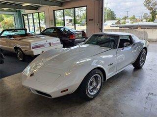 1974 Chevrolet Corvette C3 Stingray White 4 Speed Manual Coupe