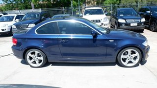2010 BMW 125i E82 MY10 125i Blue 6 Speed Automatic Coupe