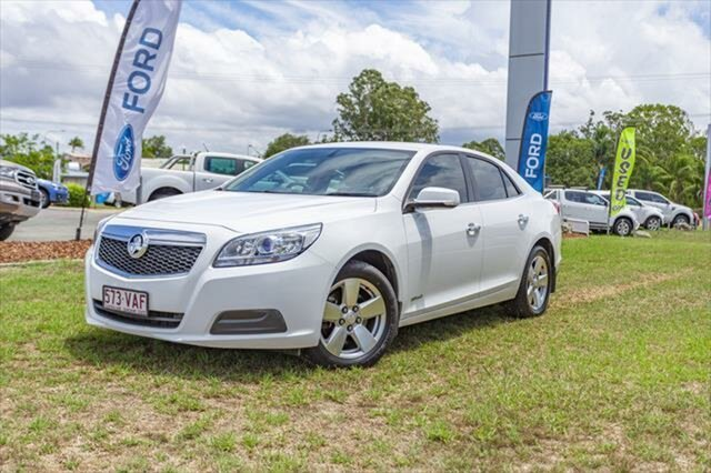 Used Holden Malibu V300 MY14 CD, 2014 Holden Malibu V300 MY14 CD White 6 Speed Sports Automatic Sedan