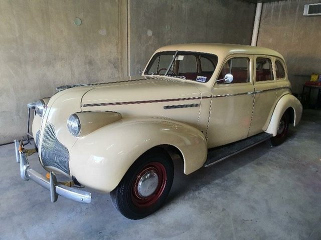 Used Buick Super  , 1939 Buick Super 8/40 Cream 3 Speed Manual Sedan
