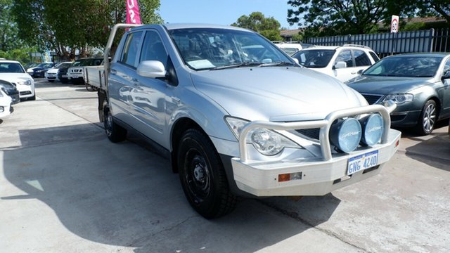 Used Ssangyong Actyon 100 Series MY08 XDi, 2010 Ssangyong Actyon 100 Series MY08 XDi Silver 5 Speed Manual Wagon