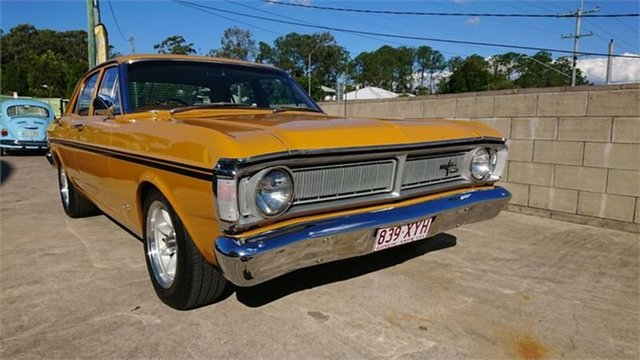 Used Ford Falcon XY 500, 1971 Ford Falcon XY 500 Yellow Orche 3 Speed Automatic Sedan