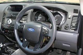 2013 Ford Ranger PX XL 4x2 Black 6 Speed Manual Cab Chassis