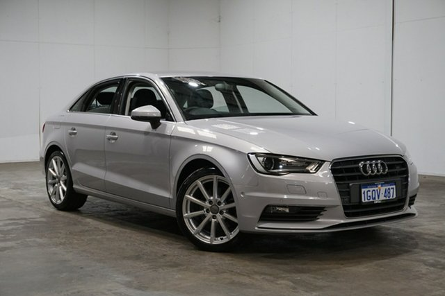 Used Audi A3 8V MY14 Ambition S Tronic, 2014 Audi A3 8V MY14 Ambition S Tronic Silver 7 Speed Sports Automatic Dual Clutch Sedan