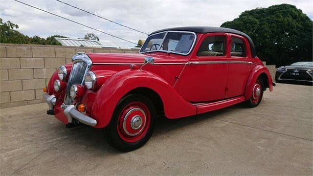 Used Riley RMA  , 1948 Riley RMA Red 4 Speed Manual