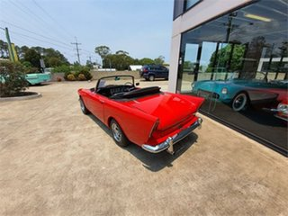 1960 Sunbeam Alpine Red 4 Speed Manual Sports