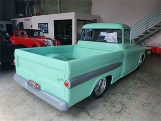1955 Chevrolet 3100 Mint Green 3 Speed Automatic Pickup.