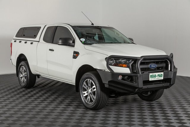 Used Ford Ranger PX MkII XL Super Cab, 2017 Ford Ranger PX MkII XL Super Cab White 6 speed Manual Utility