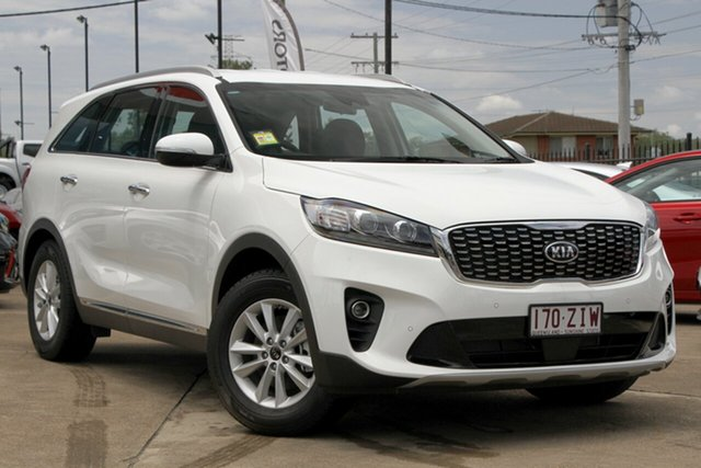 Demo Kia Sorento UM MY20 SI, 2019 Kia Sorento UM MY20 SI Clear White 8 Speed Sports Automatic Wagon