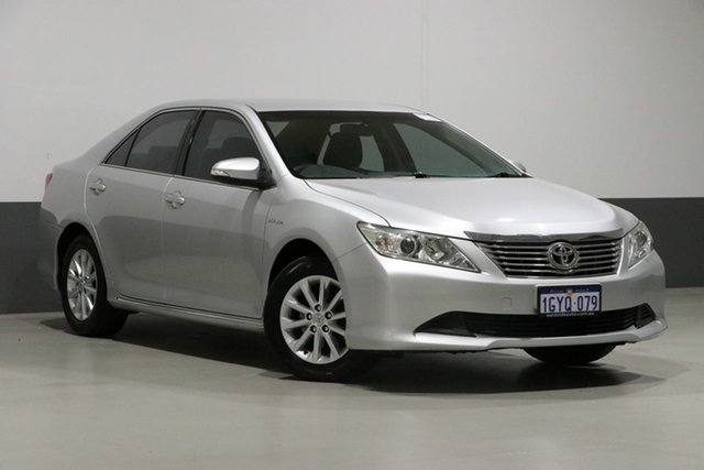 Used Toyota Aurion GSV50R AT-X, 2012 Toyota Aurion GSV50R AT-X Silver 6 Speed Automatic Sedan