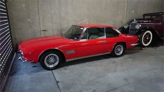 1967 Maserati Mexico Red 5 Speed Manual Coupe