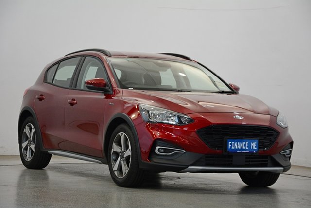 Demo Ford Focus SA 2019.75MY Active, 2019 Ford Focus SA 2019.75MY Active Ruby Red 8 Speed Automatic Hatchback