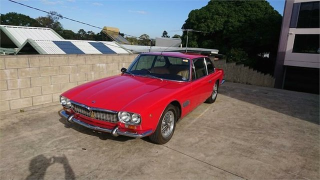 Used Maserati Mexico  , 1967 Maserati Mexico Red 5 Speed Manual Coupe