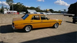 1971 Ford Falcon XY 500 Yellow Orche 3 Speed Automatic Sedan