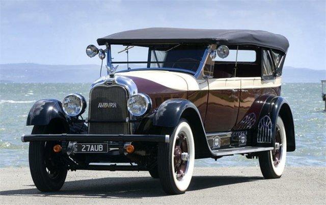 Used Auburn Speedster  , 1927 Auburn Speedster 8-88T Maroon & Cream 3 Speed Manual LWB Tourer
