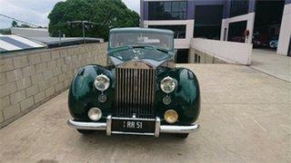 1951 Rolls-Royce SILVER WRAITH PARKWARD Green 4 Speed Manual Sedan.