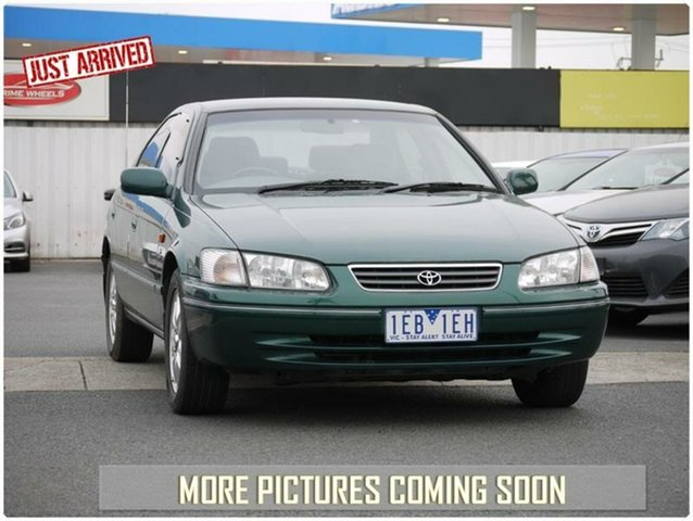Used Toyota Camry MCV20R Touring, 2002 Toyota Camry MCV20R Touring Green Manual Sedan