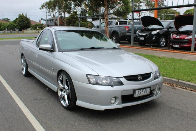Used Holden Commodore VY II Storm, 2004 Holden Commodore VY II Storm Silver 5 Speed Manual Utility