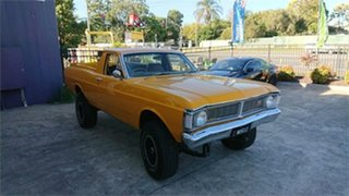 1971 Ford Falcon XY 4x4 Summer Gold 3 Speed Manual Utility.