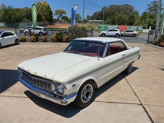 1965 Ford Falcon XP Deluxe White 5 Speed Manual Hardtop.