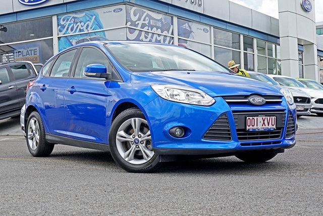 Used Ford Focus LW MkII MY14 Trend PwrShift, 2015 Ford Focus LW MkII MY14 Trend PwrShift Blue 6 Speed Sports Automatic Dual Clutch Hatchback