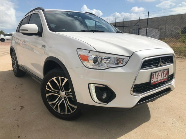 Used Mitsubishi ASX XC MY17 LS 2WD, 2016 Mitsubishi ASX XC MY17 LS 2WD White 6 Speed Constant Variable Wagon