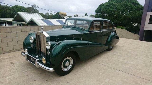 Used Rolls-Royce Park Ward  , 1951 Rolls-Royce SILVER WRAITH PARKWARD Green 4 Speed Manual Sedan