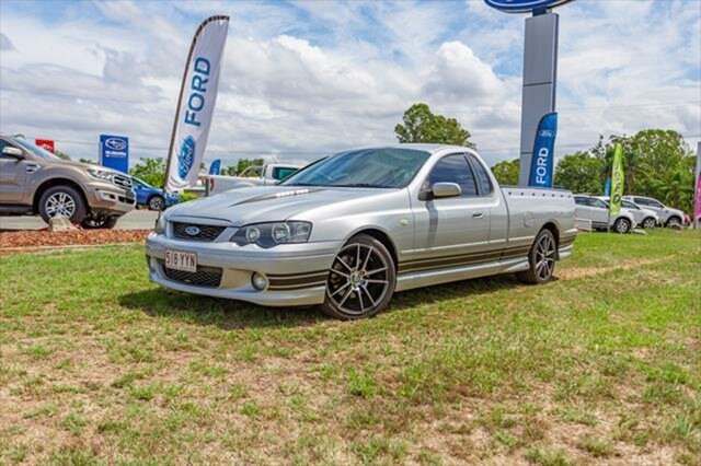 Used Ford Falcon BA Mk II XR8 Ute Super Cab, 2005 Ford Falcon BA Mk II XR8 Ute Super Cab Silver 4 Speed Sports Automatic Utility