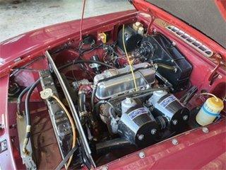 1970 MG MGB Mk II Sports Mk II Burgundy 4 Speed Manual + O/Drive Roadster