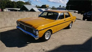 1971 Ford Falcon XY 500 Yellow Orche 3 Speed Automatic Sedan.