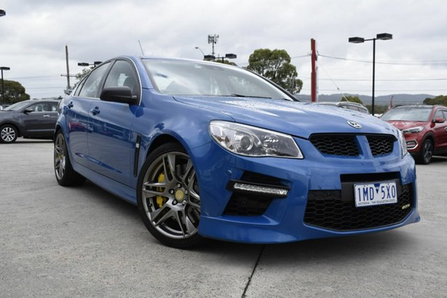 Used Holden Special Vehicles GTS Gen-F MY15 , 2015 Holden Special Vehicles GTS Gen-F MY15 Blue 6 Speed Sports Automatic Sedan