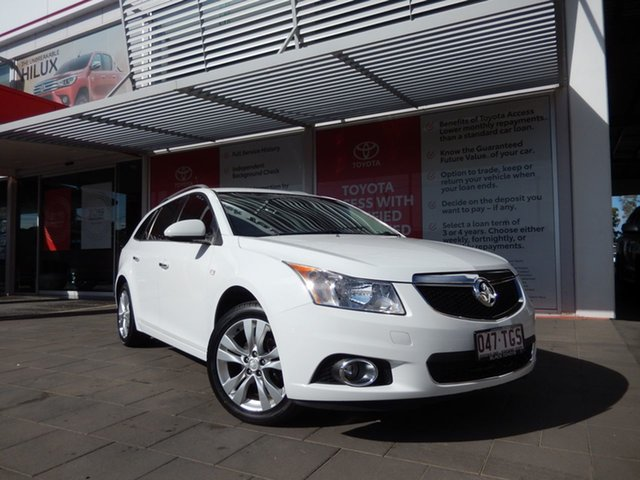 Used Holden Cruze JH MY13 CDX, 2013 Holden Cruze JH MY13 CDX White 6 Speed Automatic Sportswagon