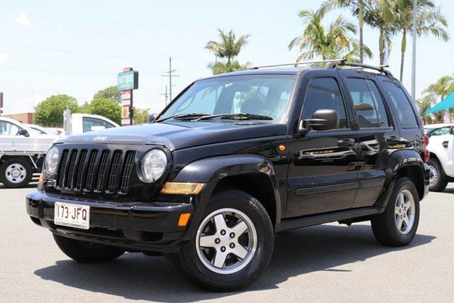 Used Jeep Cherokee KJ MY2005 Extreme Sport, 2005 Jeep Cherokee KJ MY2005 Extreme Sport Black 5 speed Automatic Wagon