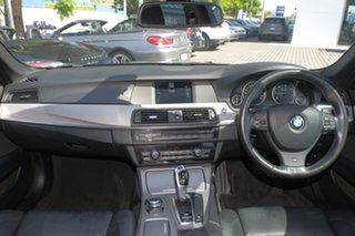 2011 BMW 5 Series F10 MY0911 520d Steptronic Black 8 Speed Sports Automatic Sedan