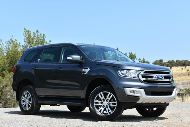 Used Ford Everest UA Trend 4WD, 2016 Ford Everest UA Trend 4WD Grey 6 Speed Sports Automatic Wagon