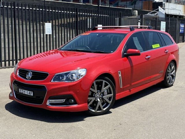 Used Holden Commodore VF MY14 SS V Sportwagon Redline, 2014 Holden Commodore VF MY14 SS V Sportwagon Redline Red 6 Speed Sports Automatic Wagon