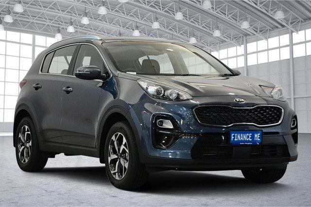 Used Kia Sportage QL MY19 Si 2WD, 2019 Kia Sportage QL MY19 Si 2WD Mercury Blue 6 Speed Sports Automatic Wagon
