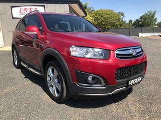 2014 Holden Captiva CG MY14 7 LTZ (AWD) Red 6 Speed Automatic Wagon.