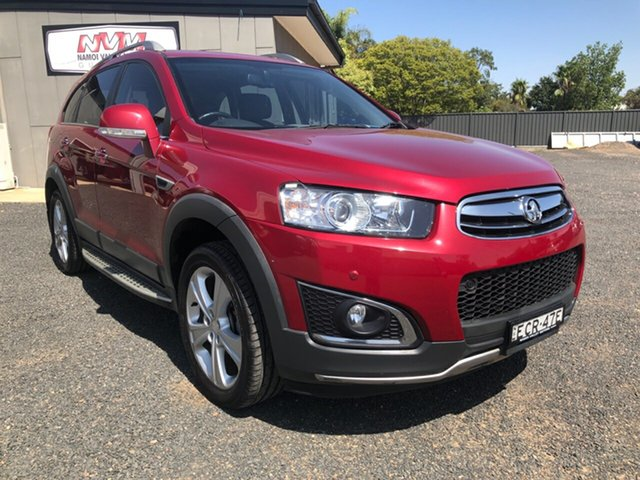 Used Holden Captiva CG MY14 7 LTZ (AWD), 2014 Holden Captiva CG MY14 7 LTZ (AWD) Red 6 Speed Automatic Wagon
