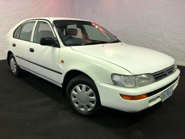 Used Toyota Corolla AE101R CSi, 1996 Toyota Corolla AE101R CSi White 4 Speed Automatic Sedan
